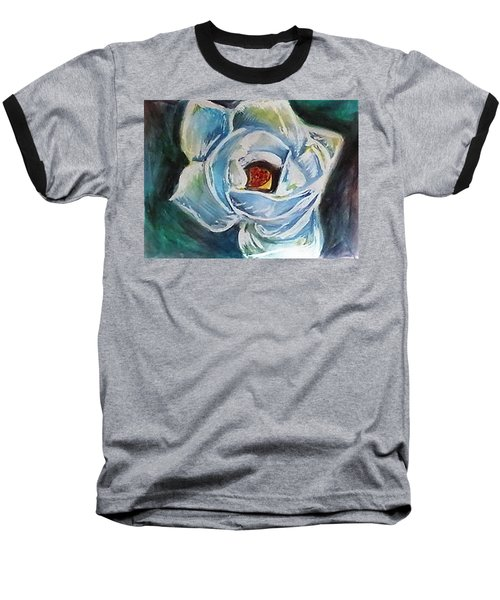 Magnolia 3 Baseball T-Shirt