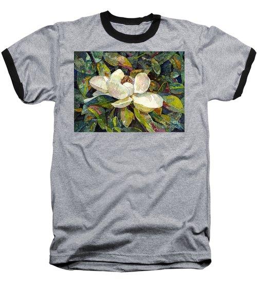 Magnolia Blossom Baseball T-Shirt