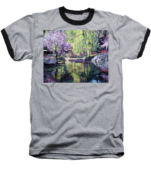 Magnolia Blossoms Baseball T-Shirt