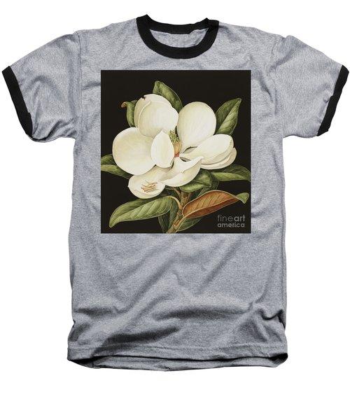 Magnolia Grandiflora Baseball T-Shirt