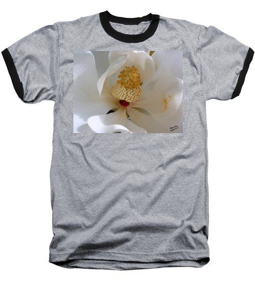 Magnolia Happiness Baseball T-Shirt