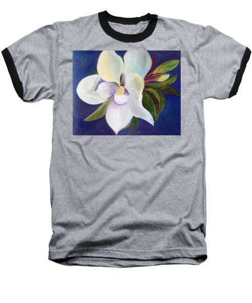 Magnolia Painting Baseball T-Shirt