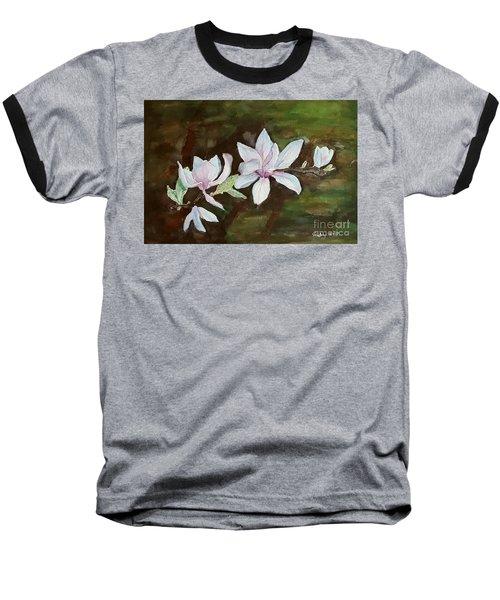 Magnolia - Painting  Baseball T-Shirt
