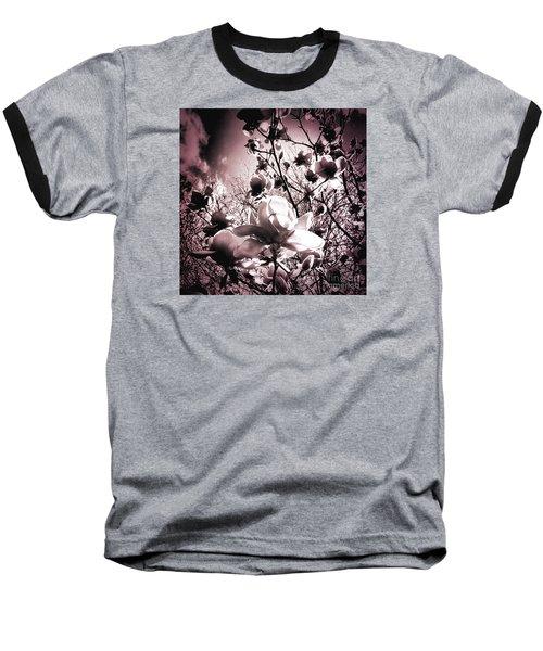 Magnolia Pink Baseball T-Shirt