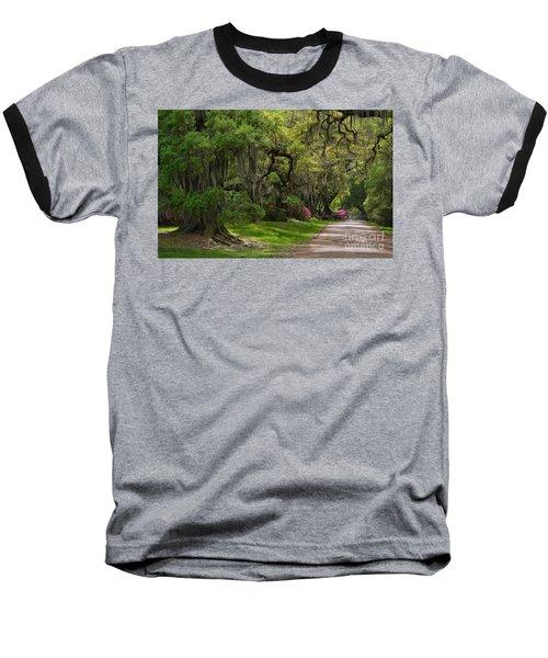 Magnolia Plantation And Gardens Baseball T-Shirt by Kathy Baccari