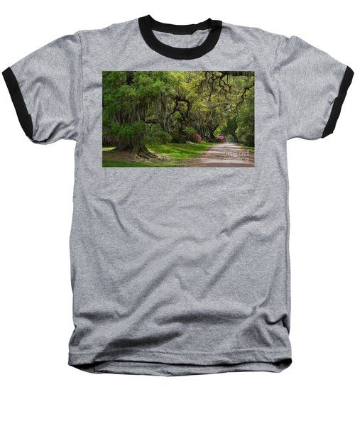 Magnolia Plantation And Gardens Baseball T-Shirt