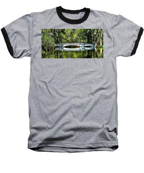 Magnolia Plantation Bridge - Charleston Sc Baseball T-Shirt