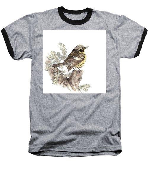 Magnolia Warbler Baseball T-Shirt