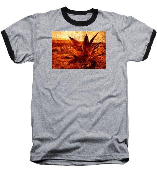 Maguey Agave Baseball T-Shirt by J- J- Espinoza