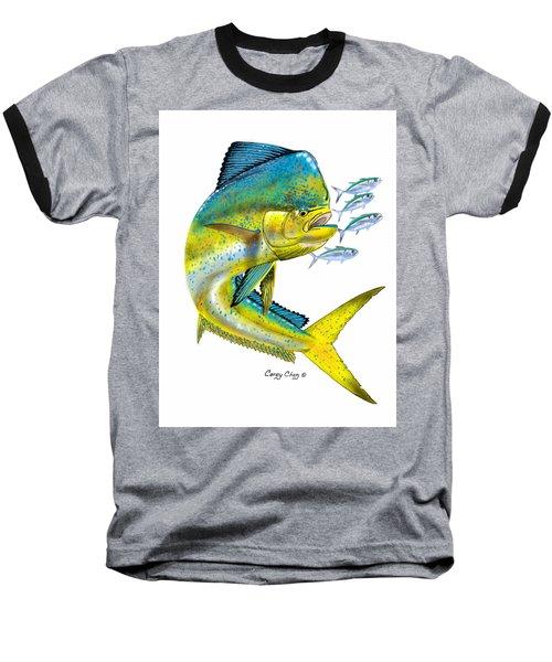 Mahi Digital Baseball T-Shirt by Carey Chen