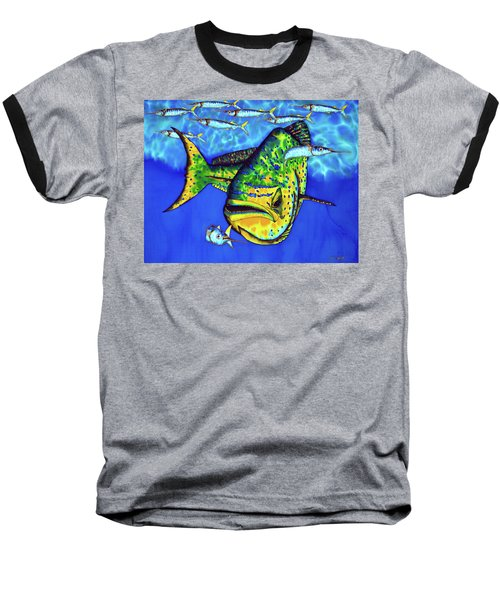 Mahi Mahi And Ballyhoo Baseball T-Shirt