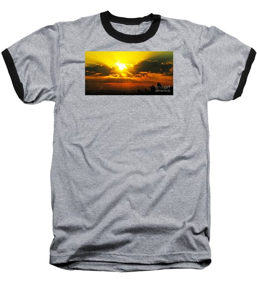 Mahlon Sweet Sunset Baseball T-Shirt