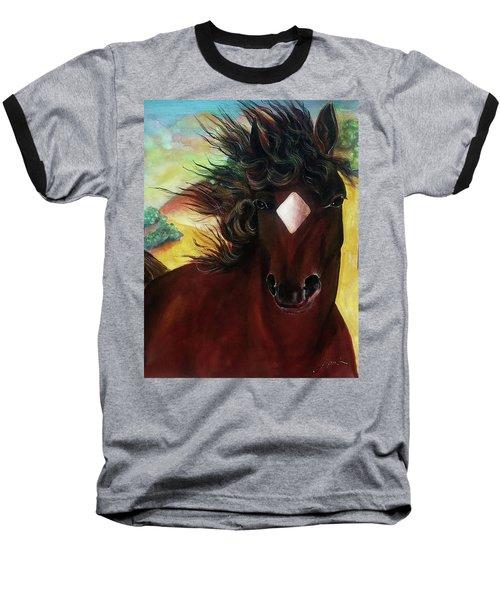Mahogany  Baseball T-Shirt