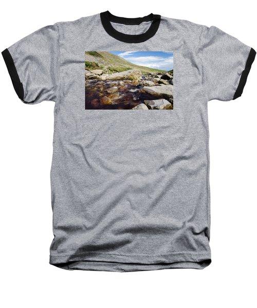 Mahon Falls And River Baseball T-Shirt by Martina Fagan