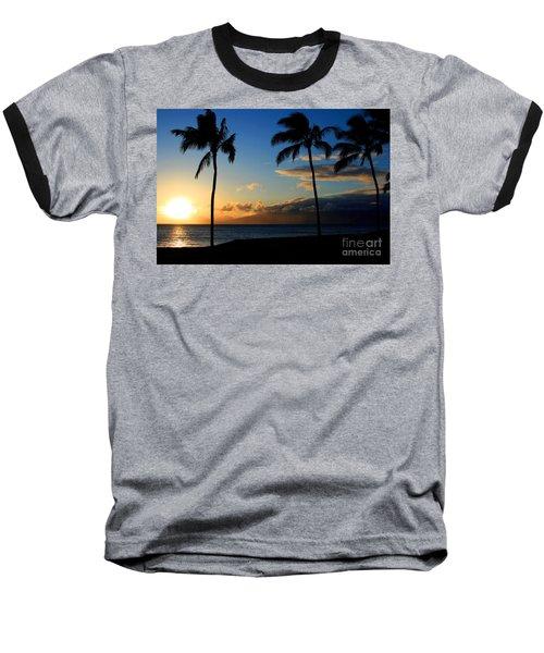 Mai Ka Aina Mai Ke Kai Kaanapali Maui Hawaii Baseball T-Shirt