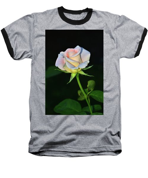 Baseball T-Shirt featuring the photograph Maid Of Honour Rose 001 by George Bostian