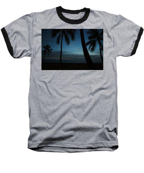 Ma'ili Beach After Sunset Baseball T-Shirt
