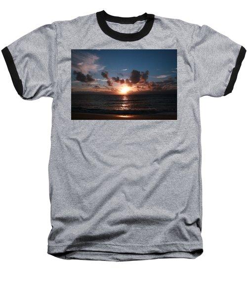 Ma'ili Sunset Baseball T-Shirt