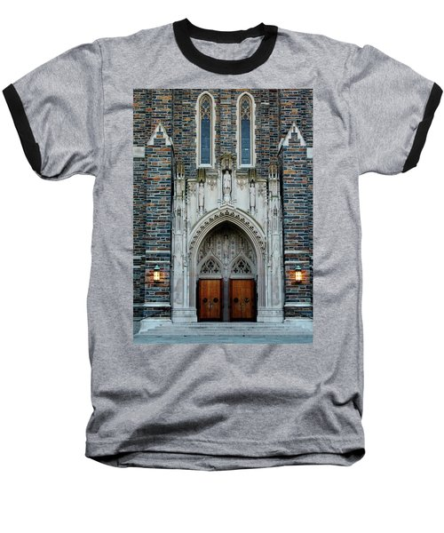 Main Entrance To Chapel Baseball T-Shirt