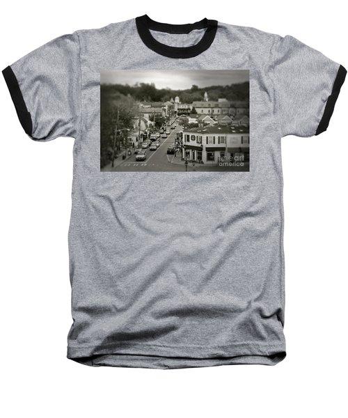 Main Street, Port Jefferson, Ny Baseball T-Shirt