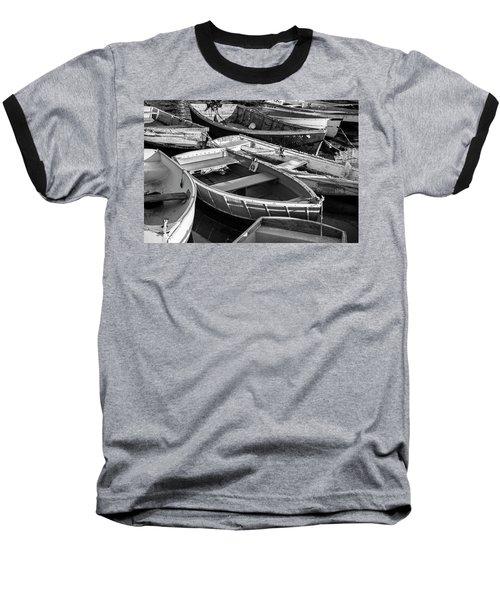 Baseball T-Shirt featuring the photograph Maine Boats by Ranjay Mitra