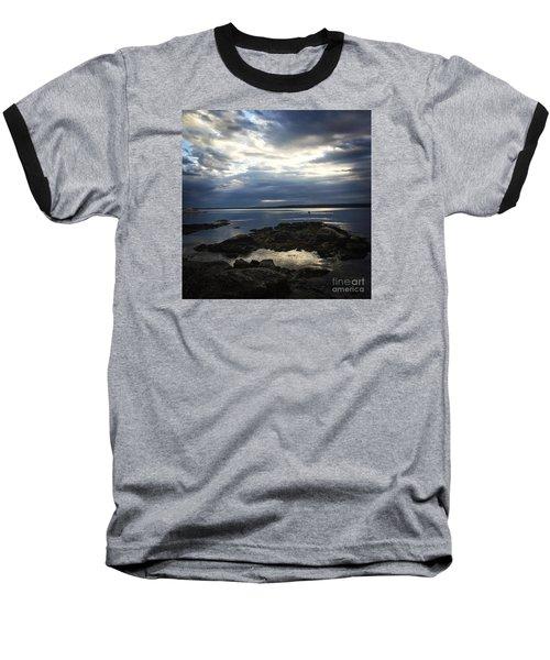 Maine Drama Baseball T-Shirt by LeeAnn Kendall