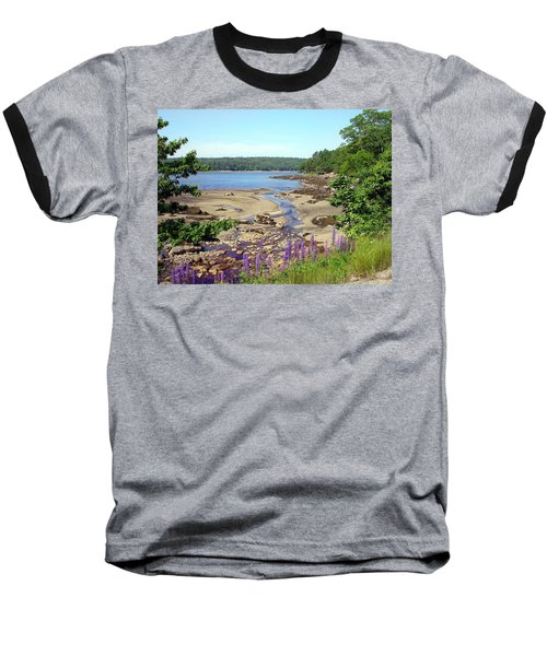 Maine Lupines Baseball T-Shirt