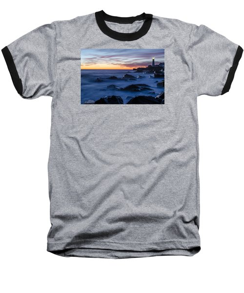 Baseball T-Shirt featuring the photograph Maine by Paul Noble