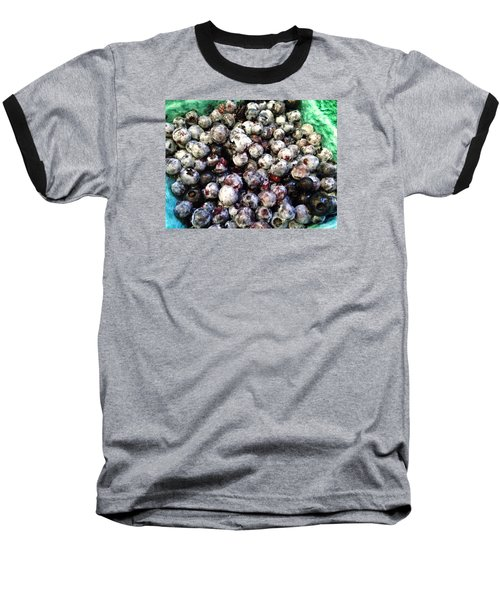 Baseball T-Shirt featuring the photograph Maine Pearls by Olivier Calas