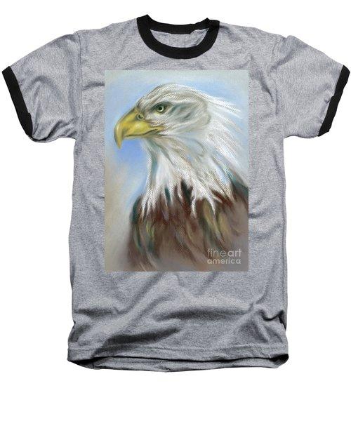 Majestic Bald Eagle Baseball T-Shirt
