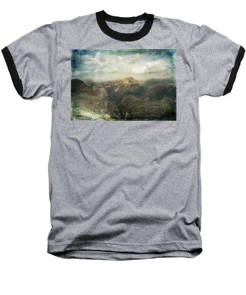 Majestic Dolomites Baseball T-Shirt
