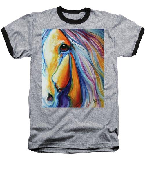 Majestic Equine 2016 Baseball T-Shirt by Marcia Baldwin