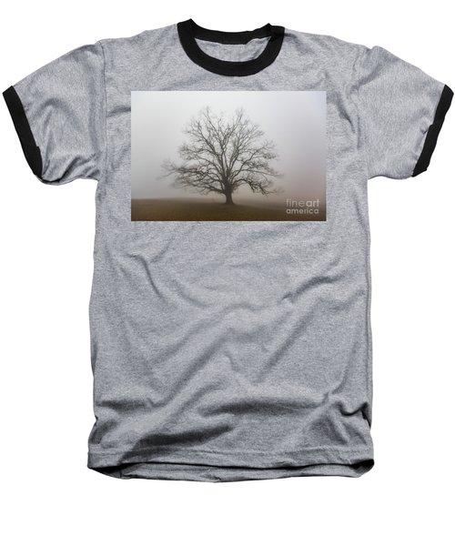 Majestic Fog Baseball T-Shirt by Robert Loe