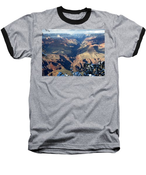 Baseball T-Shirt featuring the photograph Majestic Grand Canyon by Laurel Powell