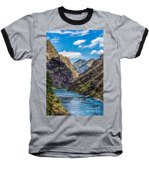 Majestic Hells Canyon Idaho Landscape By Kaylyn Franks Baseball T-Shirt