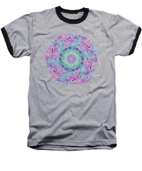Majestic Kaleidoscope Baseball T-Shirt