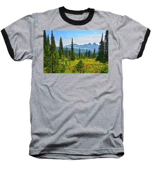 Majestic Meadows Baseball T-Shirt by Angelo Marcialis