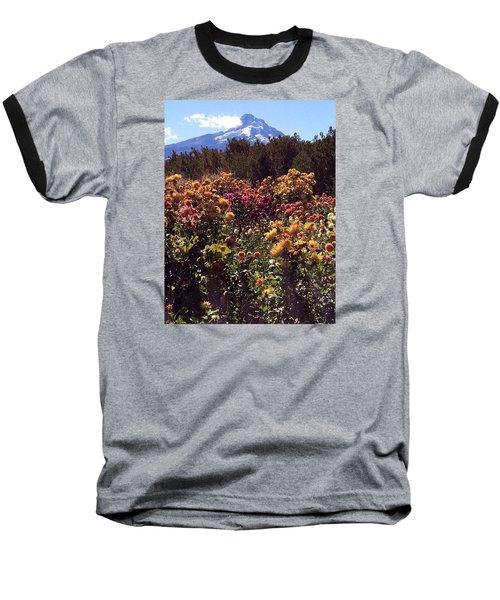 Majestic Mount Hood  Baseball T-Shirt by Jennifer Lake