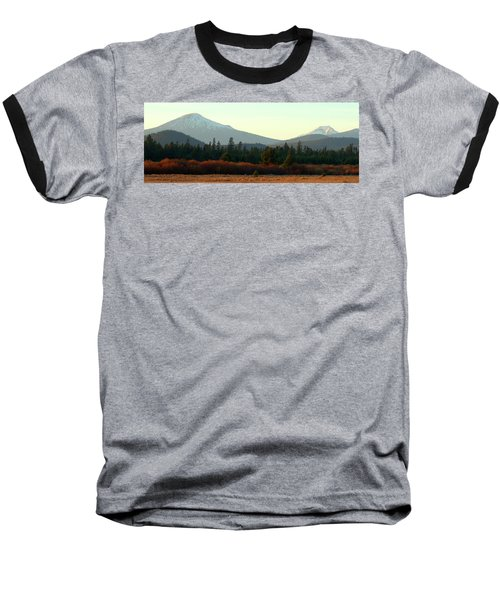 Majestic Mountains Baseball T-Shirt by Terry Holliday Giltner