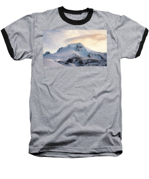 Baseball T-Shirt featuring the photograph Majestic Mt. Hood by Ryan Manuel