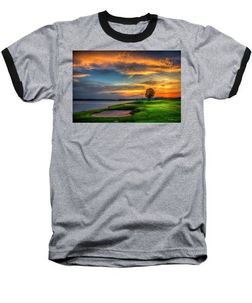 Baseball T-Shirt featuring the photograph Majestic Number 4 The Landing Reynolds Plantation Art by Reid Callaway