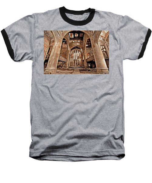 Baseball T-Shirt featuring the photograph Majestic Ruins by Suzanne Stout