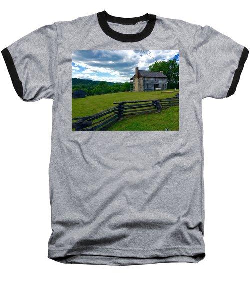 Majestic Wolf House Stands  Baseball T-Shirt