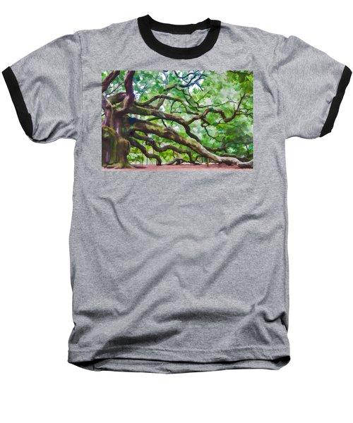Majesty - The Angel Oak Baseball T-Shirt