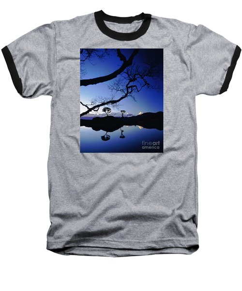 Makalu Nepal At Sunset Baseball T-Shirt