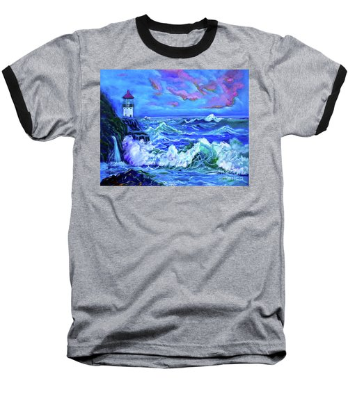 Makapuu Lighthouse 11 Jenny Lee Discount Baseball T-Shirt