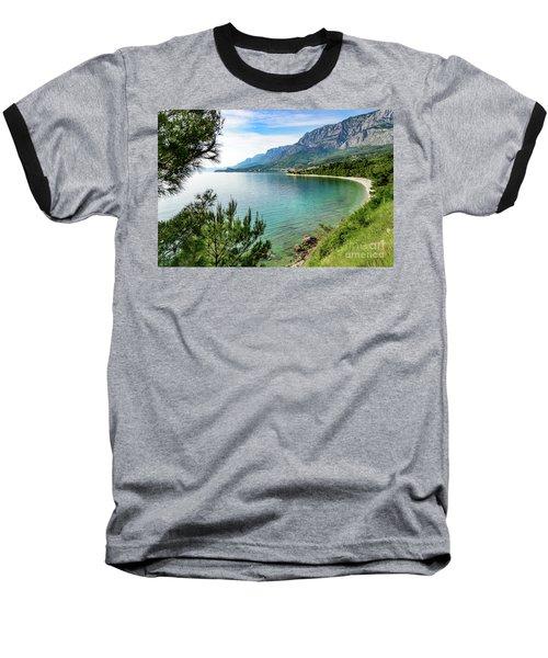 Makarska Riviera White Stone Beach, Dalmatian Coast, Croatia Baseball T-Shirt