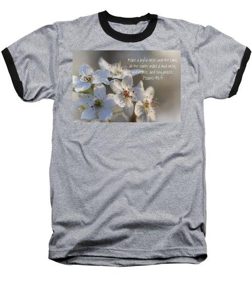 Make A Joyful Noise Unto The Lord Baseball T-Shirt