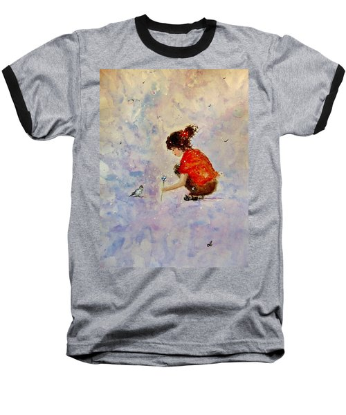 Make A Wish 20 Baseball T-Shirt by Cristina Mihailescu