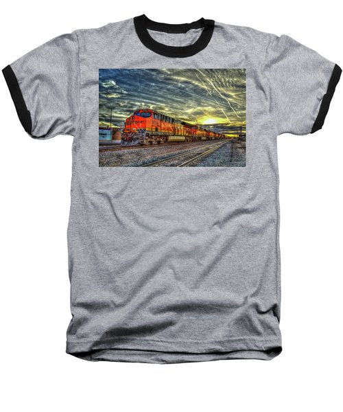 Make Way Resting B N S F Train Gallup New Mexico Art Baseball T-Shirt